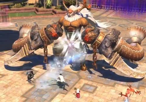 Tank Stance en Final Fantasy XIV